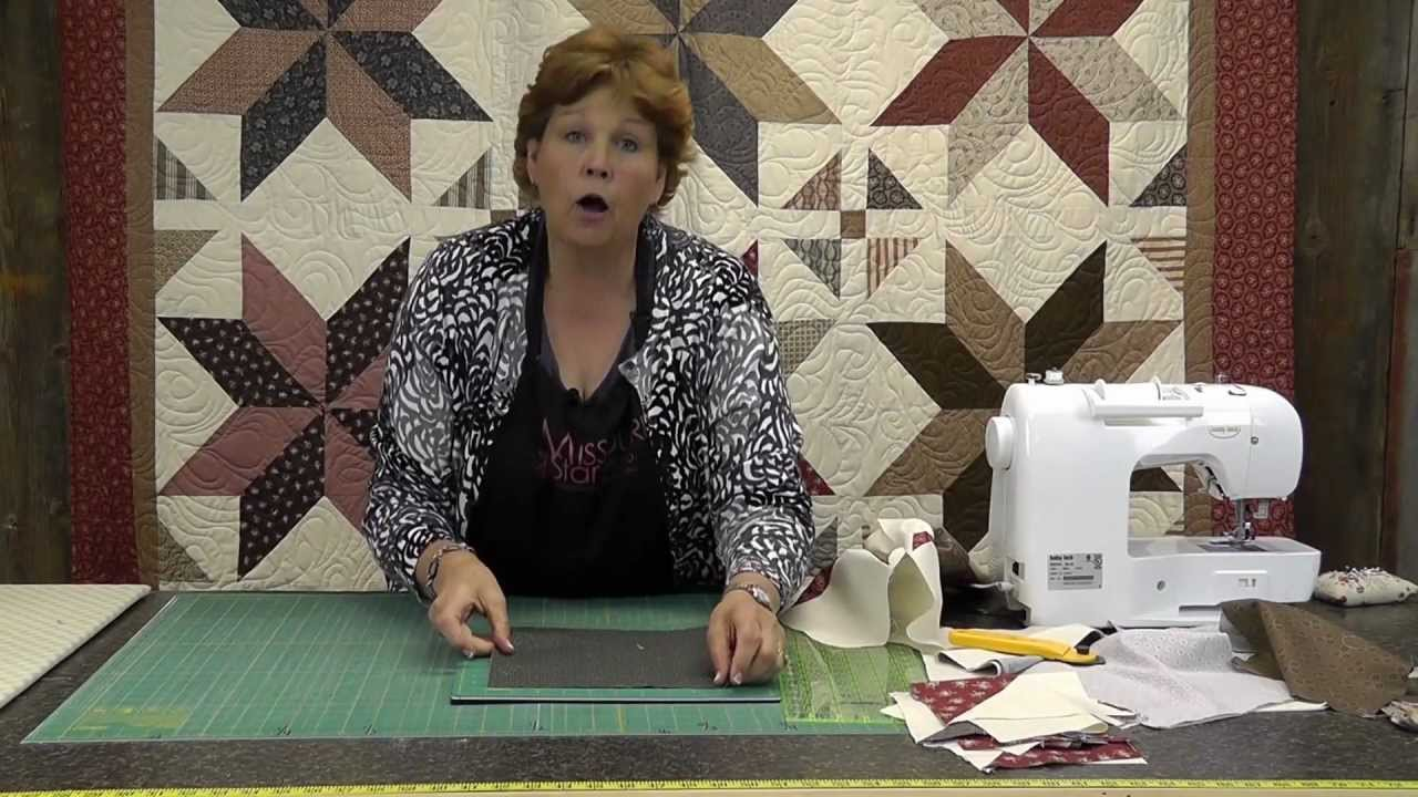 The Big Star Quilt - Quilting Made Easy! - YouTube : missouri quilting - Adamdwight.com