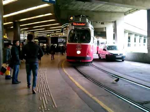 stra enbahn linie 41 schottentor in wien 12 youtube. Black Bedroom Furniture Sets. Home Design Ideas