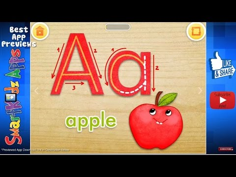 Learn to write ABC with TOY SCHOOL Letters - Free kids Educational Game