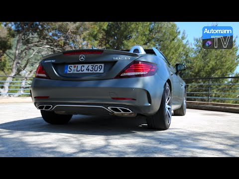 2017 Mercedes-AMG SLC 43 (367hp) - DRIVE & SOUND (60FPS)