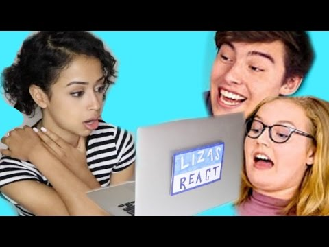 Thumbnail: LIZA REACTS TO TEENS REACT TO LIZA KOSHY!