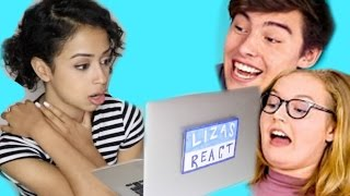 LIZA REACTS TO TEENS REACT TO LIZA KOSHY! thumbnail