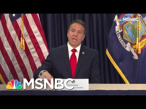 Cuomo Criticizes Trump For Calling New York's Request For Federal Help A 'Bailout' | MSNBC