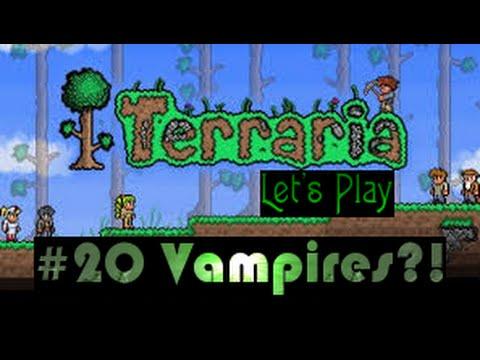 Terraria Lets Play Cobalt & Vampires!