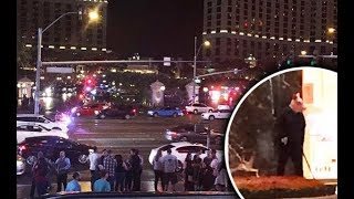 Vegas Shooting NEW Footage!! 10/03/17 From Phone Next To Stage & Inside Hotel !!! UNREAL!