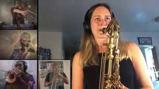 The Talia Rubenstein Remote Big Band – Placecard