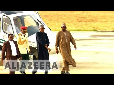 Nigerians rejoice as president Buhari returns home