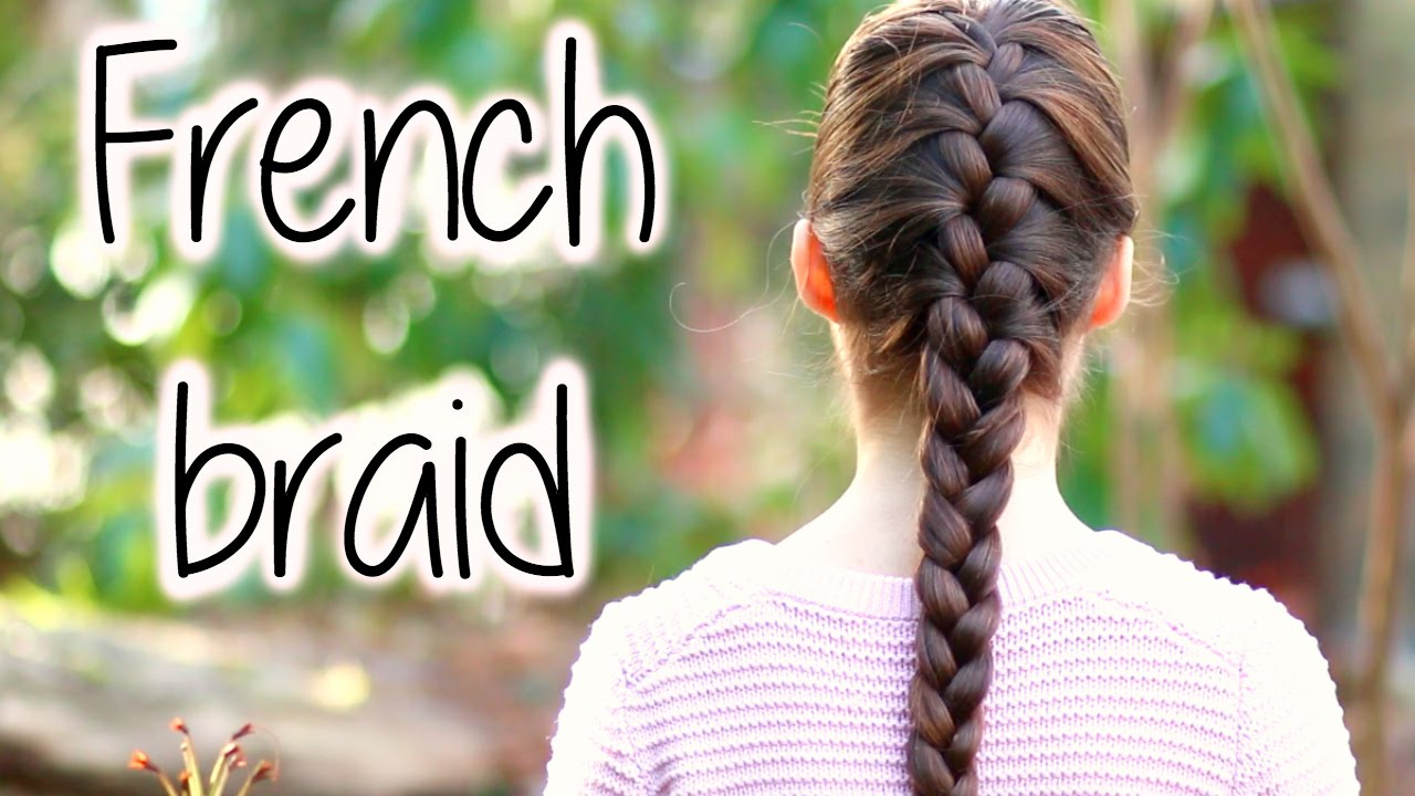 How To FRENCH BRAID fo...