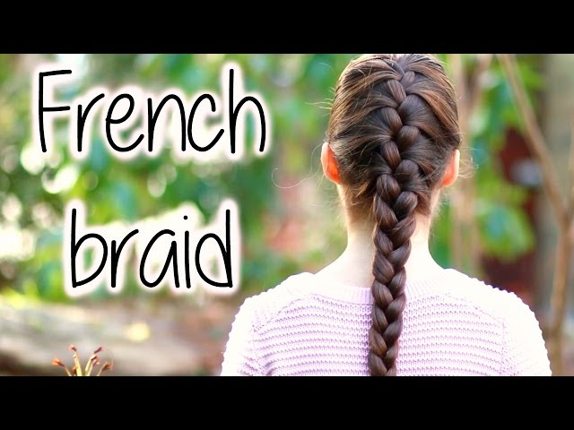 How to french braid 14 steps with pictures wikihow solutioingenieria Gallery