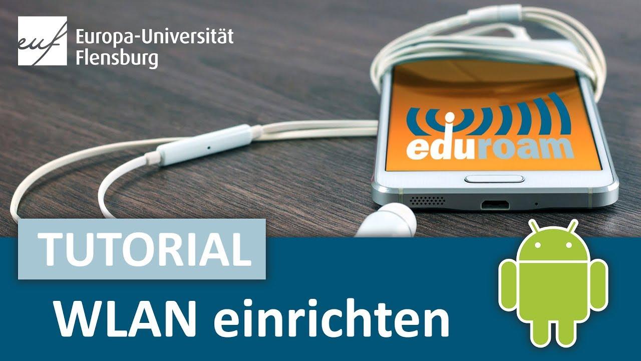 WLAN Eduroam einrichten (Android-Anleitung für Studis, Europa-Universität  Flensburg)