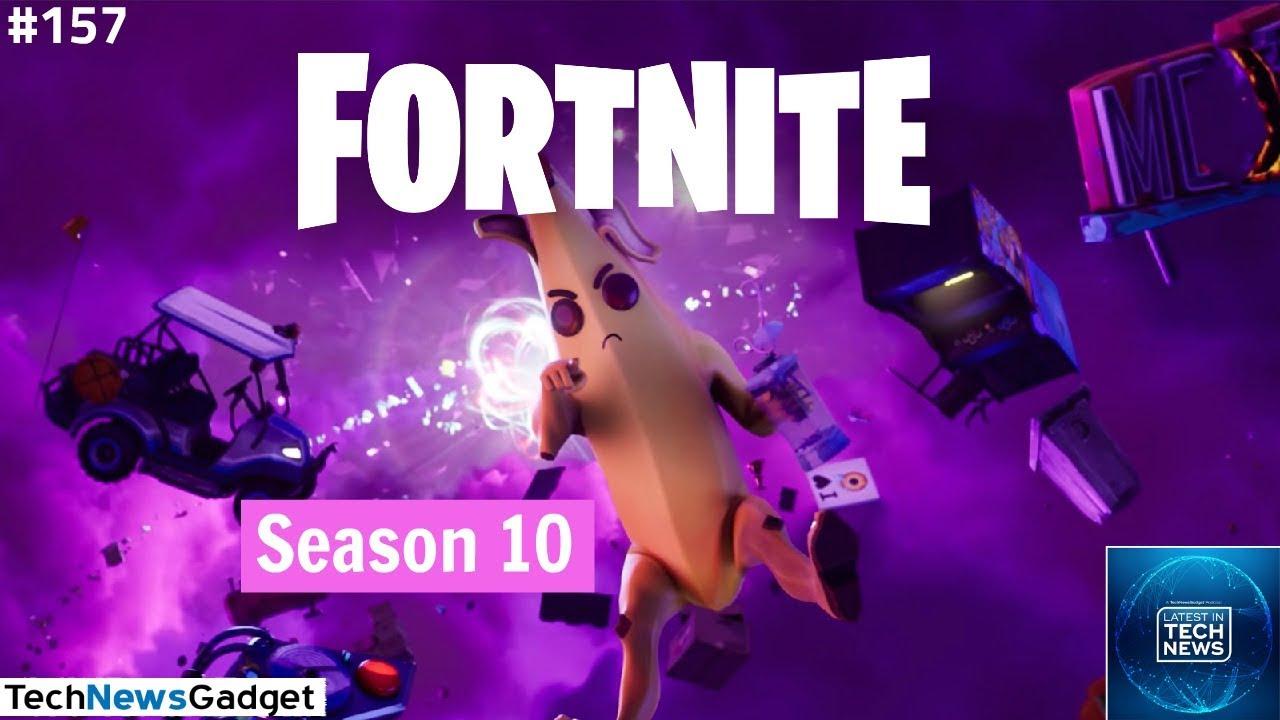 157 Fortnite Season 10 Is Right Around The Corner