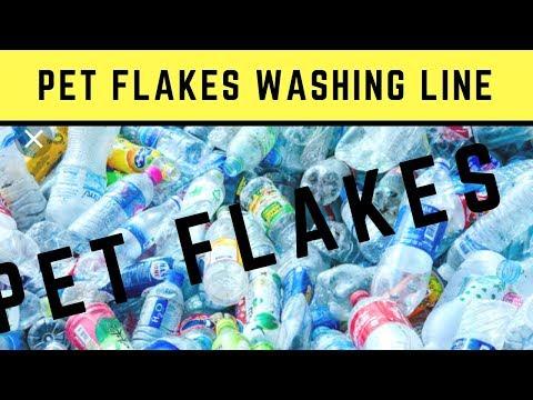 Pet Bottle Flakes Pet Bottle Waste Hot Washed Pet Flakes