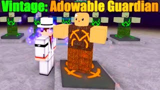 [ROBLOX: Miner's Haven] - Vintage Adowable Guardian Review