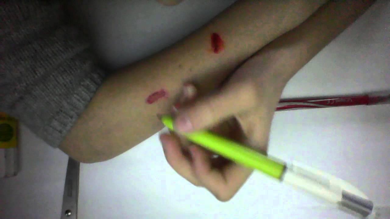 Tuto comment faire une fausse blessure youtube - Comment faire une fausse blessure ...