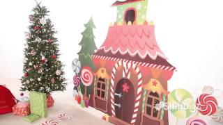 Gingerbread House Standee - Party Supplies - Shindigz Christmas Decorations