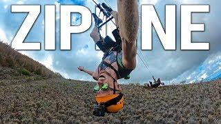 Älä kato tätä videota jos pelkäät korkeita paikkoja (ZIPLINE SEIKKAILU)