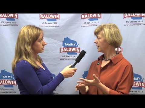Wisconsin Sen. Tammy Baldwin on gay rights