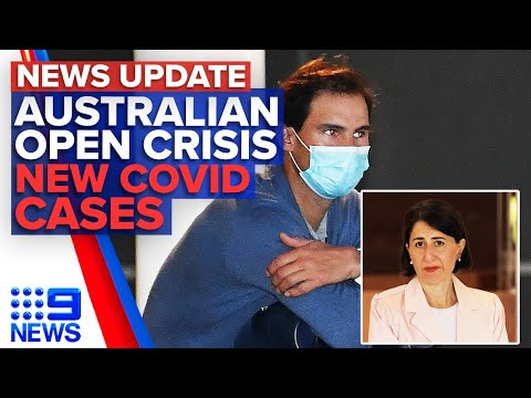 Tennis stars slam quarantine conditions, NSW records 6 new Coronavirus cases | 9 News Australia thumbnail
