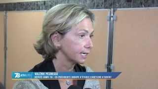 Valérie Pécresse appelle à soutenir la cause des Chrétiens d'Orient