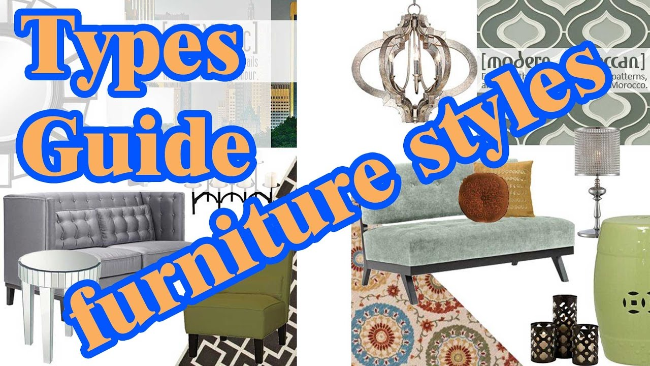 types of furniture design. types guide u0026 furniture styles design ideas of