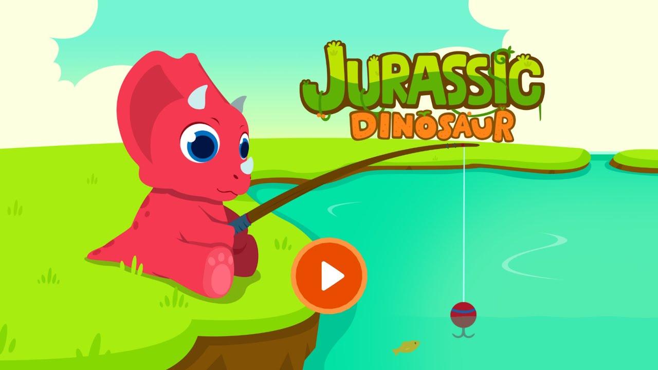 Jurassic Dinosaur Dinosaur Games For Kids Education