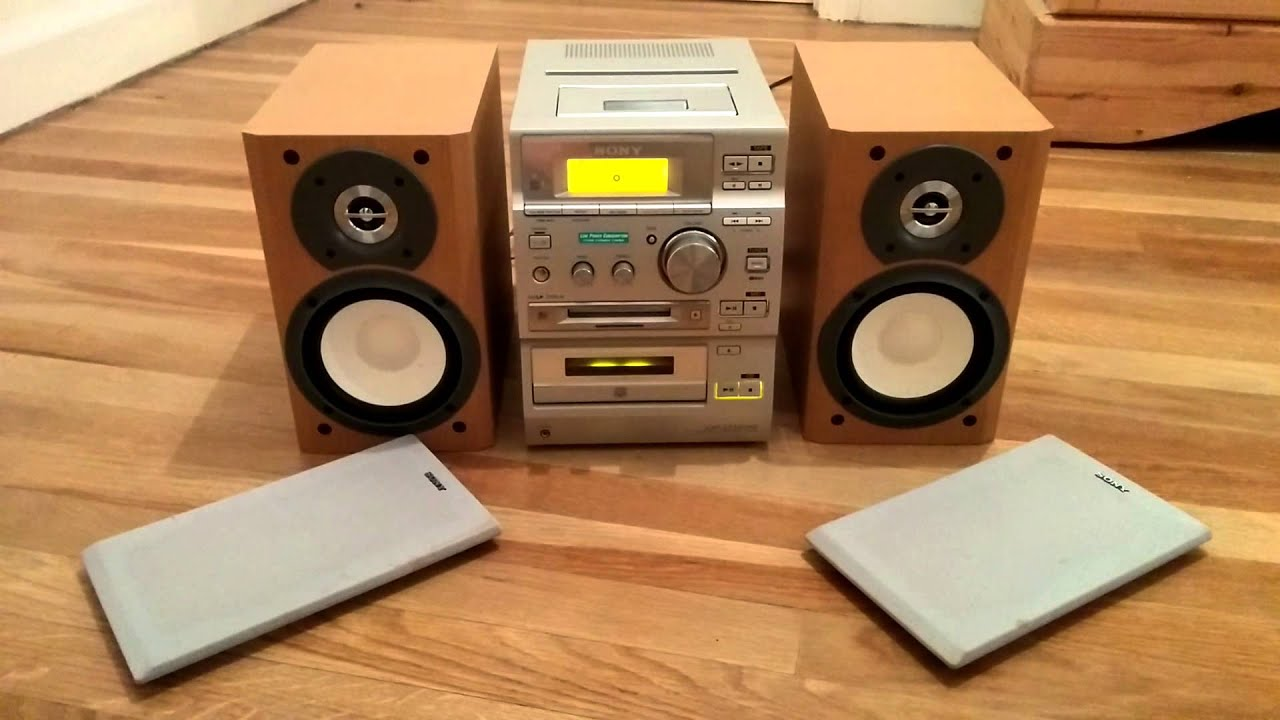Sony Cmt Cp500md Micro Hifi With Minidisc Recorder Cd