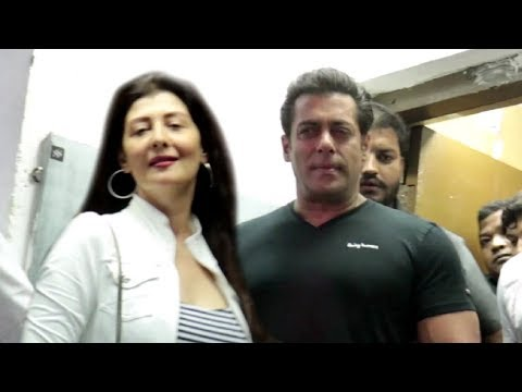 Salman Khan With His Ex-Girlfriend Sangeeta Bijlani At Race 3  Trailer Launch