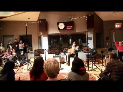 WGBH Radio Station - Jonas Kublickas performing King of Denmark's Galliard by John Dowland