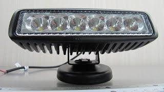 Cветодиодные фары LED 2218-18W-А spot(Дополнительные светодиодные фары LED 2218-18W-А spot (узкий луч дальнего света) http://gv-auto.com.ua/p28721780-cvetodiodnye-fary-led.html., 2013-12-27T11:45:21.000Z)