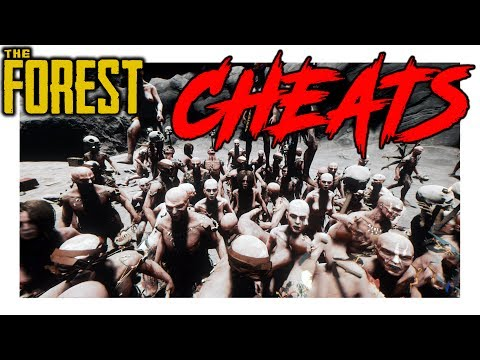 The Forest | NEW UPDATE | Cheat Menu