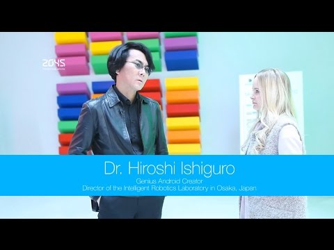 Dr Hiroshi Ishiguro in the Avatar Technology Digest Extra