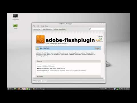 Вопрос: Как обновить Adobe Flash Player в системе Linux Mint?