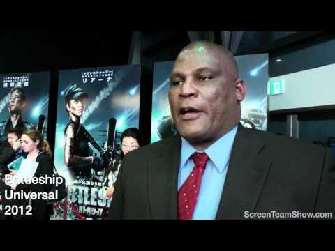 Gregory D. Gadson HD   Battleship Premiere
