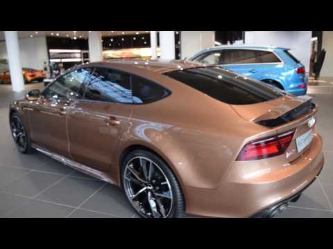 RS7 Performance In The Audi Forum Neckarsulm-Germany