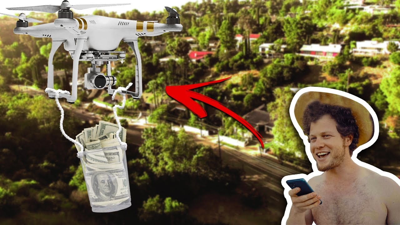 Flying $1,000 in a drone across Hollywood Hills