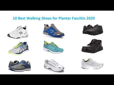 10 Best Walking Shoes for Plantar Fasciitis 2020
