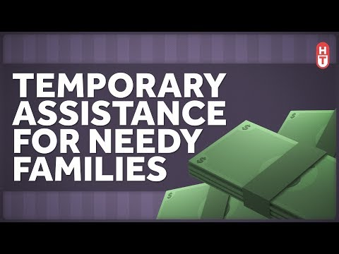 TANF, Cash Assistance, And How Work Requirements Effect Poverty Relief