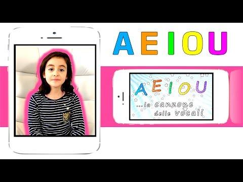 AEIOU - la canzone delle vocali - Canzoni per bambini - Sofia Del Baldo - Baby music songs