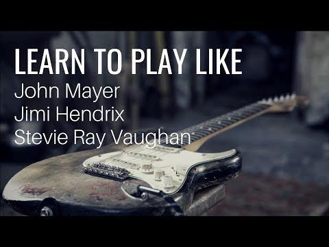 Online Guitar Courses - How to Sound like John Mayer, Jimi Hendrix and SRV - JamieHarrisonGuitar.com