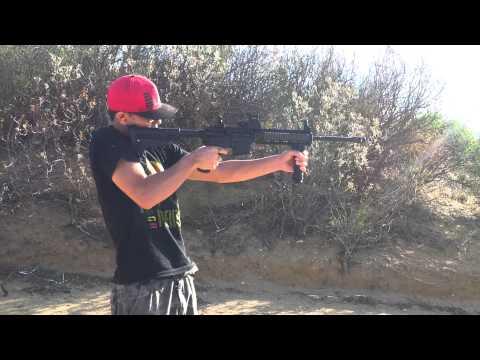 disparando R15
