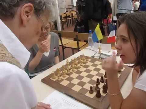 Maria Muzychuk - Almira Skripchenko Woman World Chess Blitz 2010
