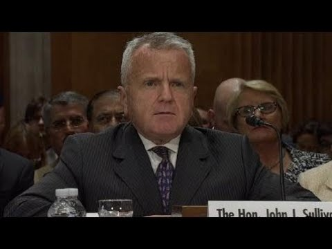 Deputy Secretary John Sullivan Testifies On Foreign Relations Before Senate Committee 7/17/17