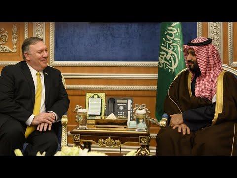 بومبيو يبحث في الرياض -كيفية بناء تحالف دولي- ضد إيران  - نشر قبل 20 دقيقة