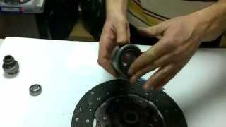 Устройства сцепления: диск сцепления, корзина сцепления(Рассматривается устройство системы сцепления в автомобилях с механической коробкой передач на примере..., 2015-04-06T10:26:09.000Z)