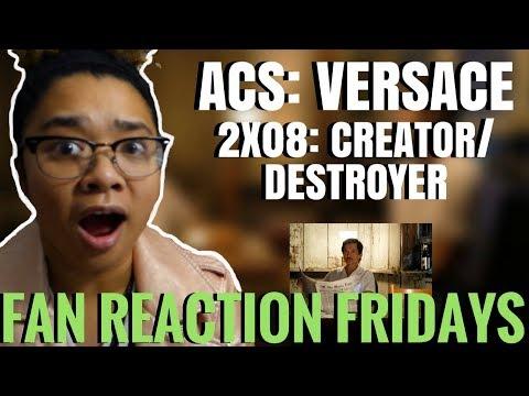 "ACS: Versace Season 2 Episode 8: ""Creator/Destroyer"" Reaction & Review | Fan Reaction Fridays"