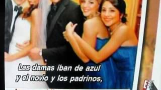Kevin Jonas and Danielle's wedding / Boda de Kevin Jonas & Danielle Subtitulado E! (HD)