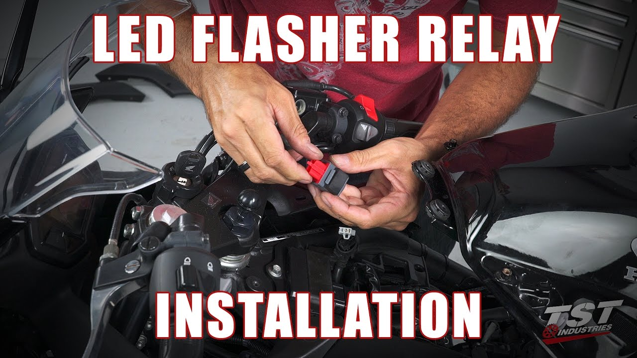 How To Install An Led Flasher Relay On A Honda Cbr500r By
