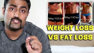 GET FIT NOT THIN - WEIGHT LOSS V/S FAT LOSS