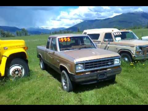 1986 ford ranger tan 4x4 for sale 995 needs work youtube. Black Bedroom Furniture Sets. Home Design Ideas