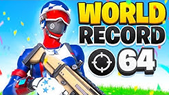 64 KILL SQUAD WORLD RECORD | Season 2 Fortnite